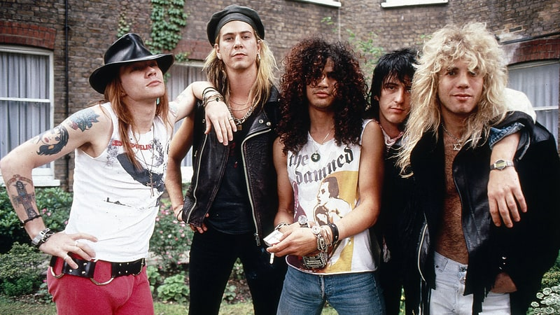 Early Guns N' Roses Video Released After 30 Years.