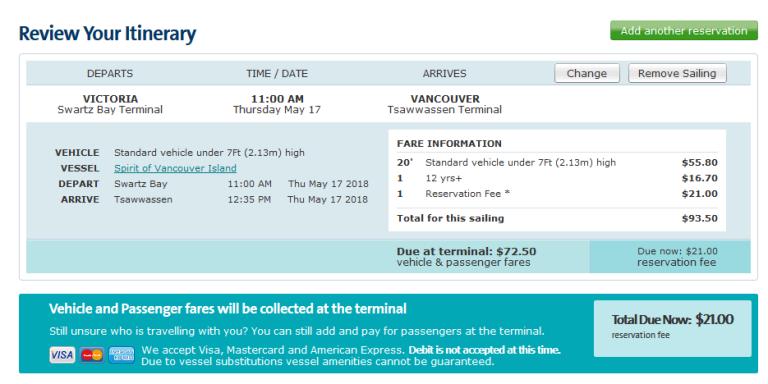 Scott's Thursday QuickPoll™: BC Ferries Reservations