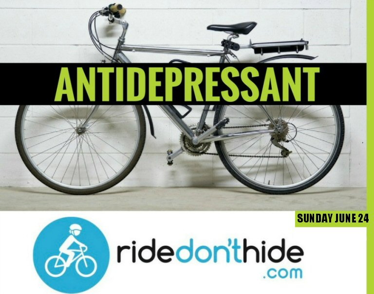 Ride Or Volunteer In The 7th Annual Ride Don't Hide Community Bike Ride To Support Mental Health Initiatives