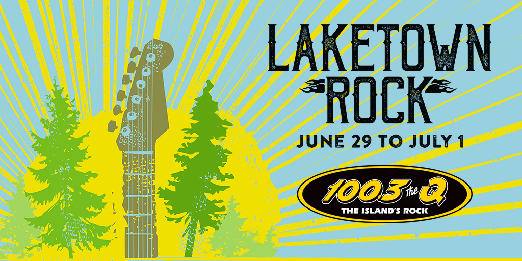Win a trip to Laketown Rock on The Q!