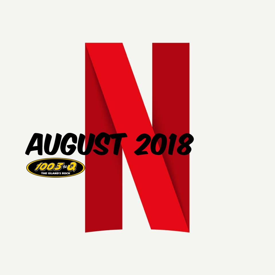 Netflix Canada August 2018