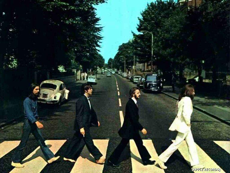 Talk About Deja Vu: Paul McCartney Walks The Abbey Road Crosswalk Again, But With Footwear On This Time