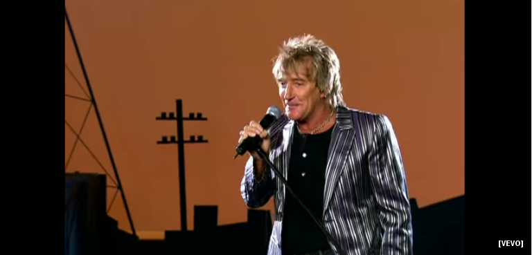 The First Track From Sir Rod Stewart's New Album Is A Warning About Drugs From A Parent's Perspective