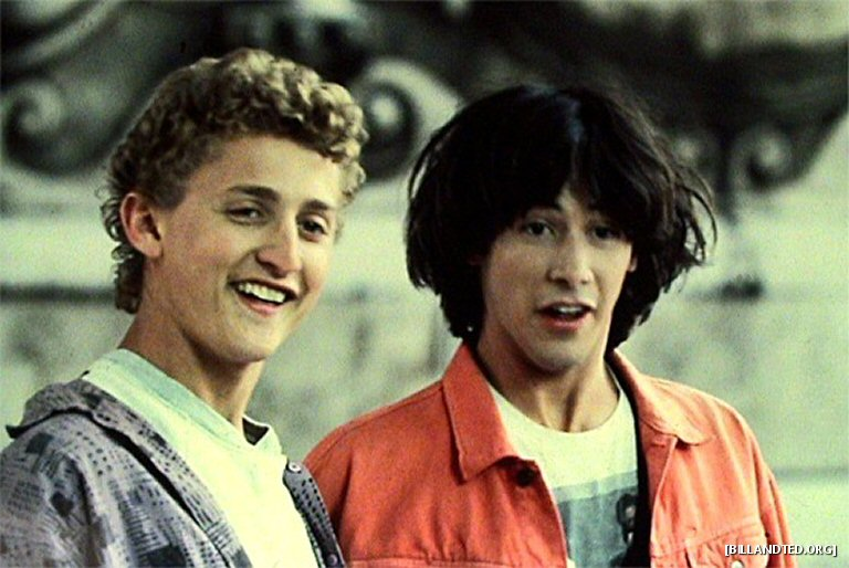 That New Bill And Ted Film May Not Happen After All And How Bogus Is That