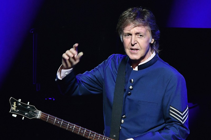 Paul McCartney Scolds Audience for Using Phones at Club Gig.
