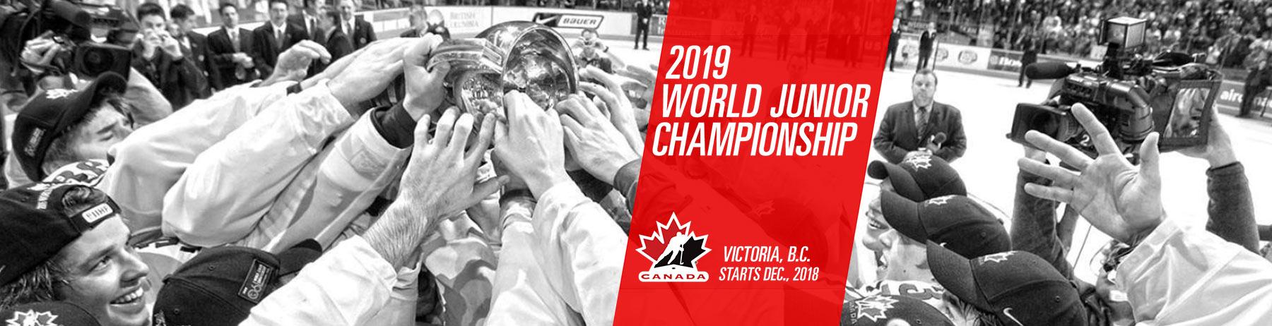 full schedule: 2019 World Junior Championships games in Victoria