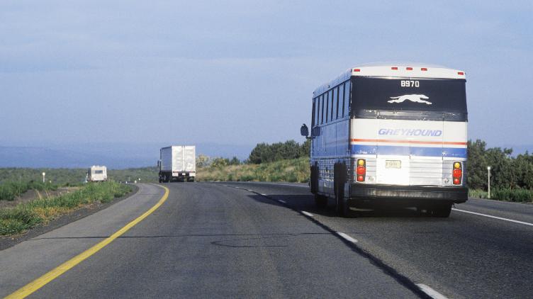 Bye Bye Greyhound Buses.