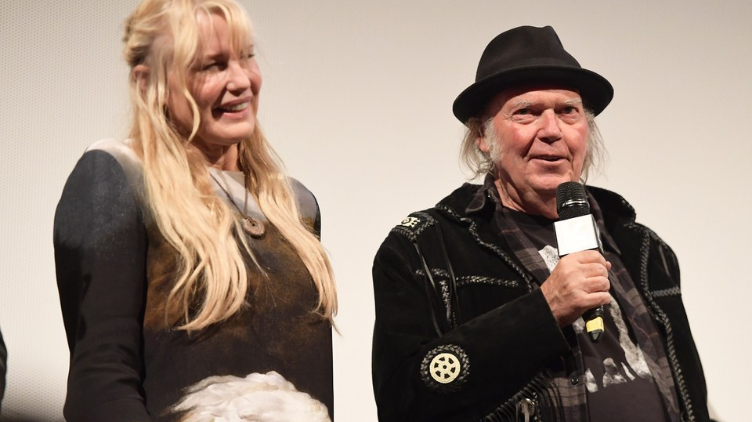 Congratulations To Neil Young And Daryl Hannah!