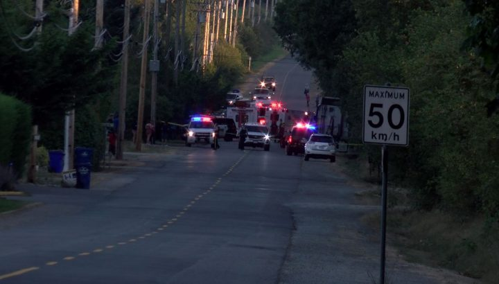 Police name victim in MVI on Central Saanich Rd
