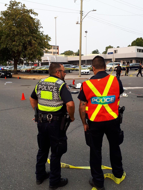 Motorcyclist dead after crash on Cook St