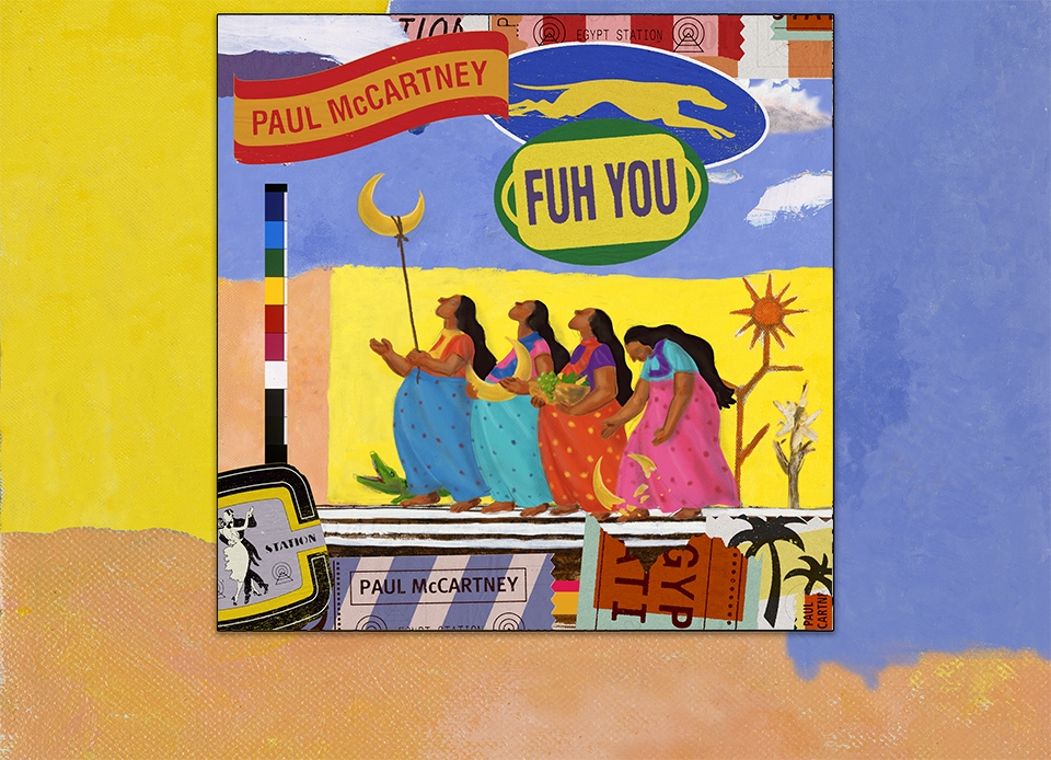"New Song From Paul McCartney - ""Fuh You""."
