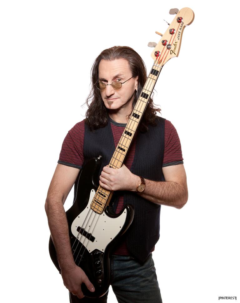 Geddy Lee: Mr. Bassy McBassface Births A Bass Book