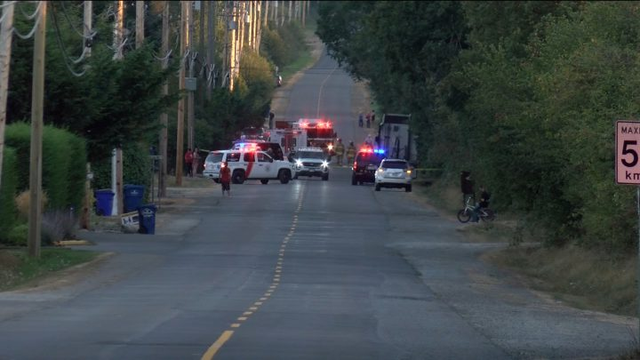 A woman and dog dead after getting hit by SUV