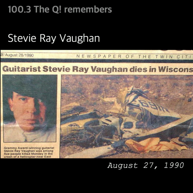 August 27th 1990: the death of Stevie Ray Vaughan