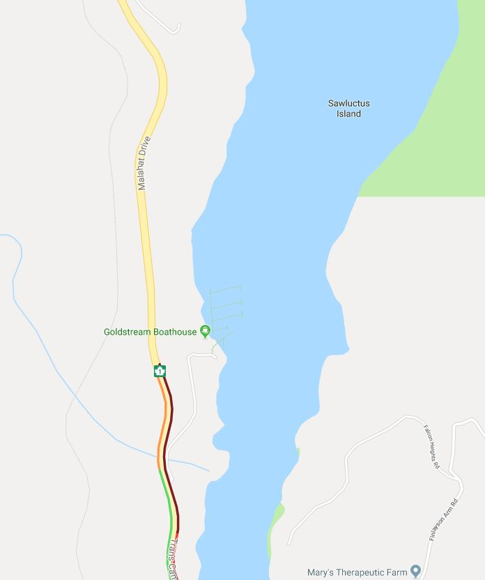 Sewage truck driver dies in Malahat rollover collision