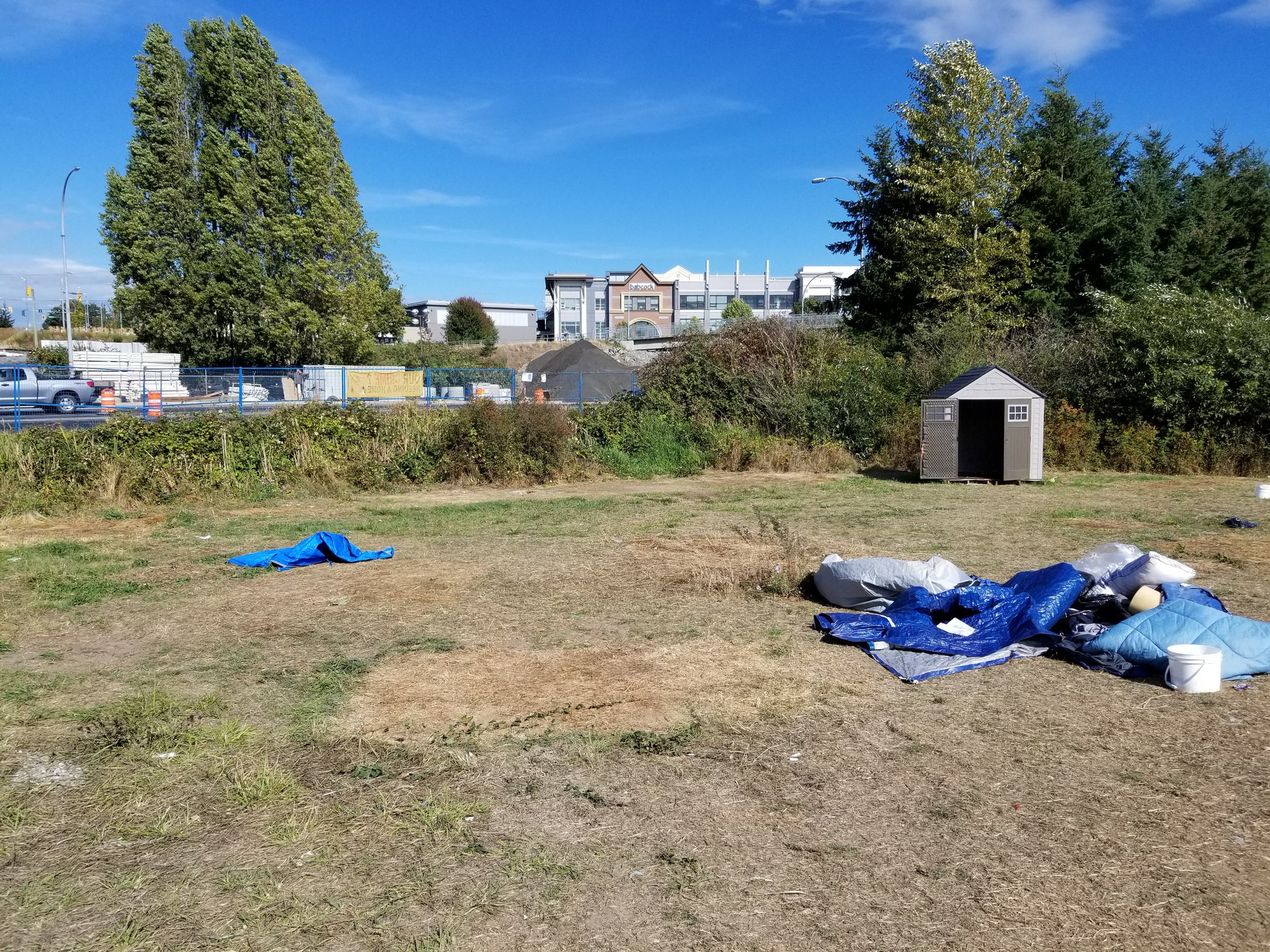 Saanich Police put clamps down on homeless camp
