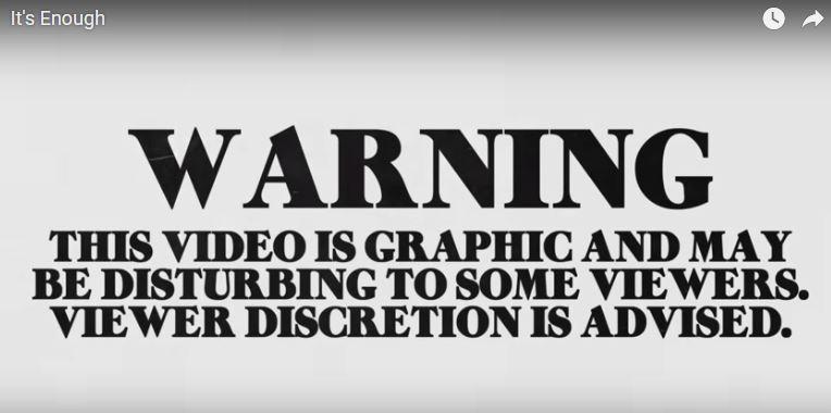 new Lenny Kravitz song & video, 'It's Enough'