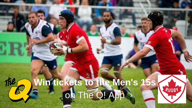 Win Rugby Canada Tickets On The Q App 1003 The Q