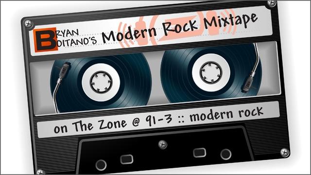 The Zone's Modern Rock Mixtape :: August 23, 2013