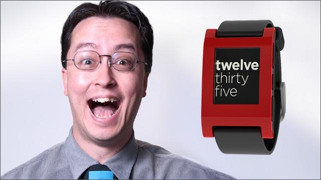 Bud's Weekly Geek-out :: Pebble watch