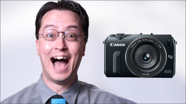 Bud's Weekly Geek-out :: Canon EOS-M