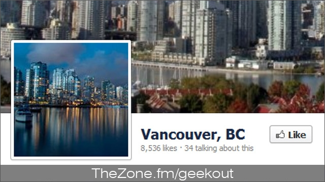 Bud's Mini Geek-out :: Facebook in Vancouver?