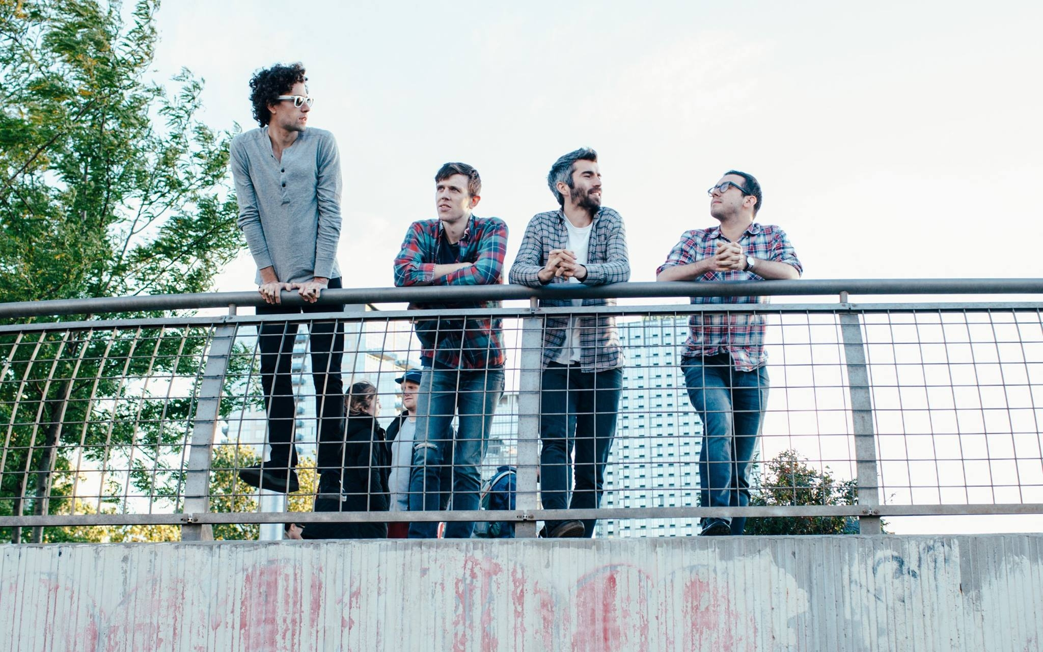 Tokyo Police Club: New song and a chat.