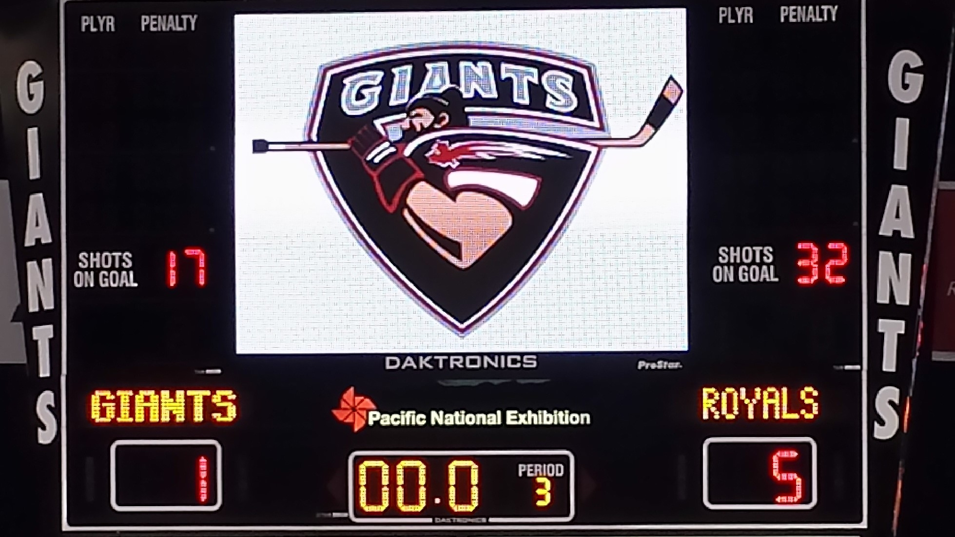 Royals Drop Giants 5-1 Friday, Hat Trick For Hannoun