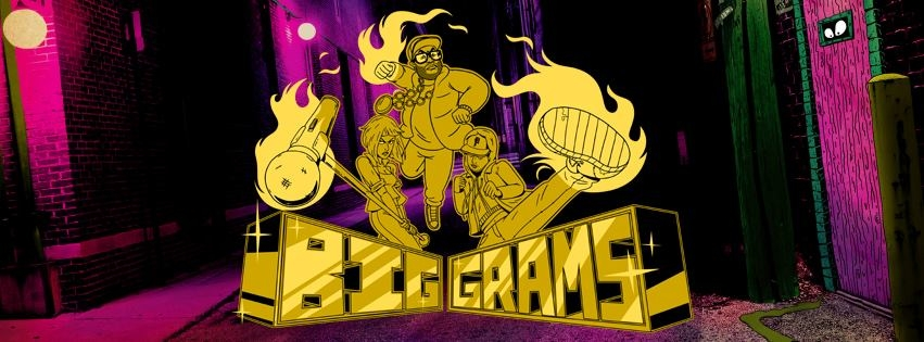 Big Grams collaborate with Run The Jewels and Adult Swim!