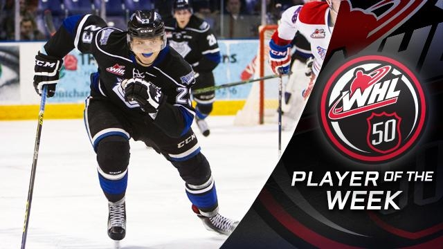 Bobylev Named WHL Player Of The Week