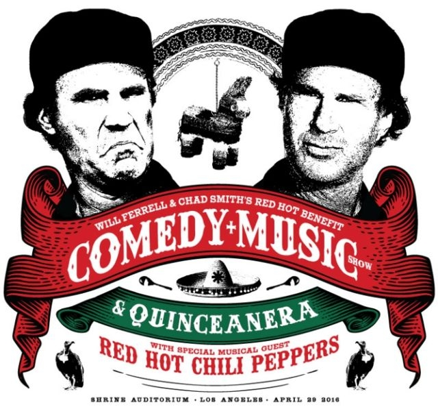 How Chad Smith is Helping Will Ferrell Celebrate His 15th Birthday...Wait What?