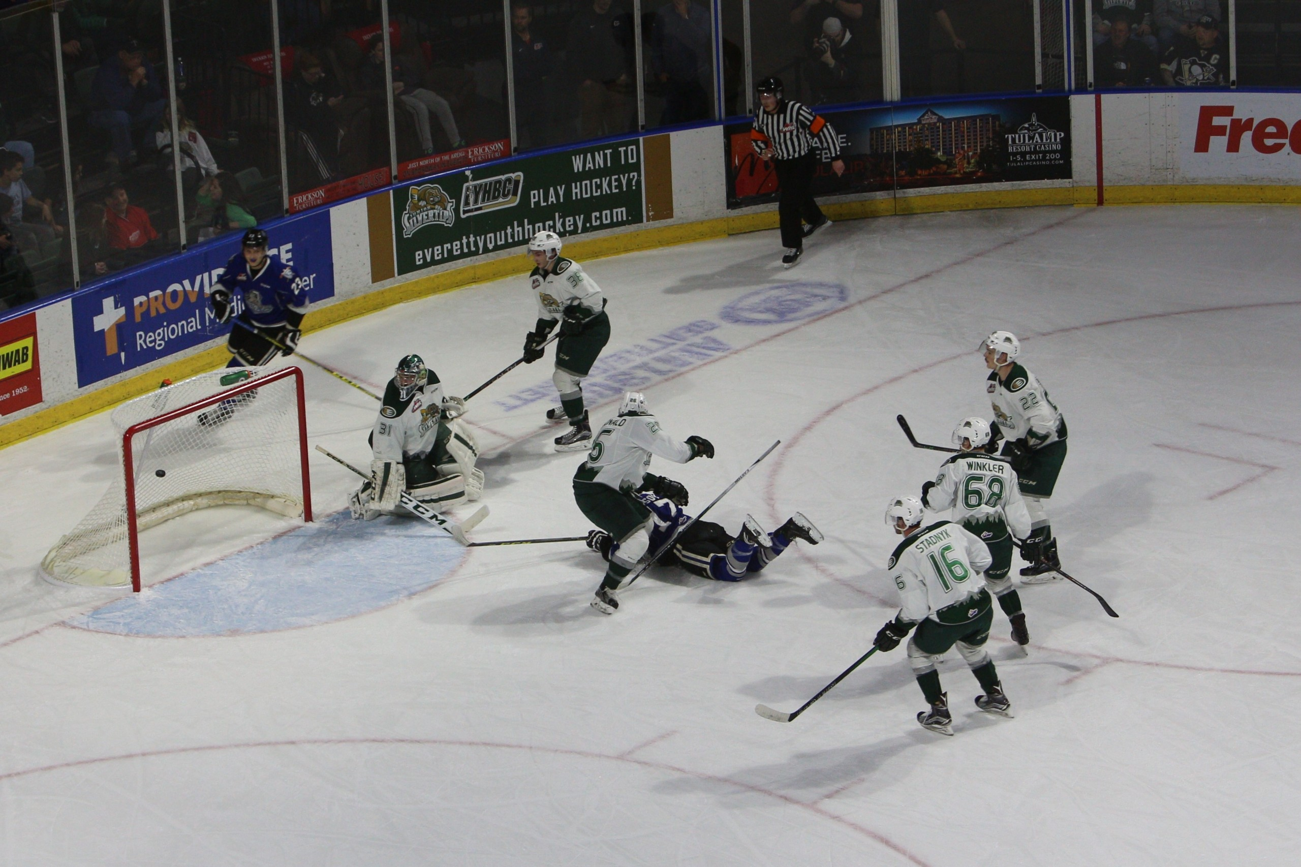 Royals Double Silvertips Set More Franchise Records Friday