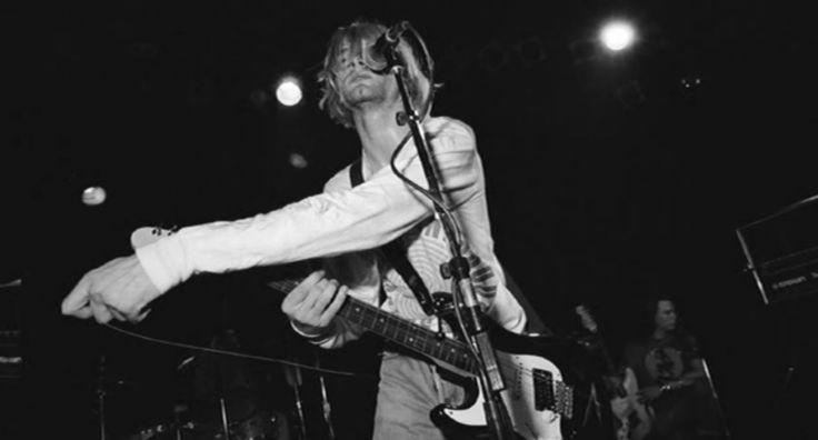 Kurt Cobain's last tour guitar is up for auction