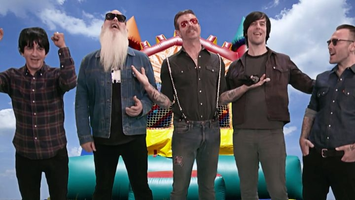 Eagles Of Death Metal Starts Bouncy House Business