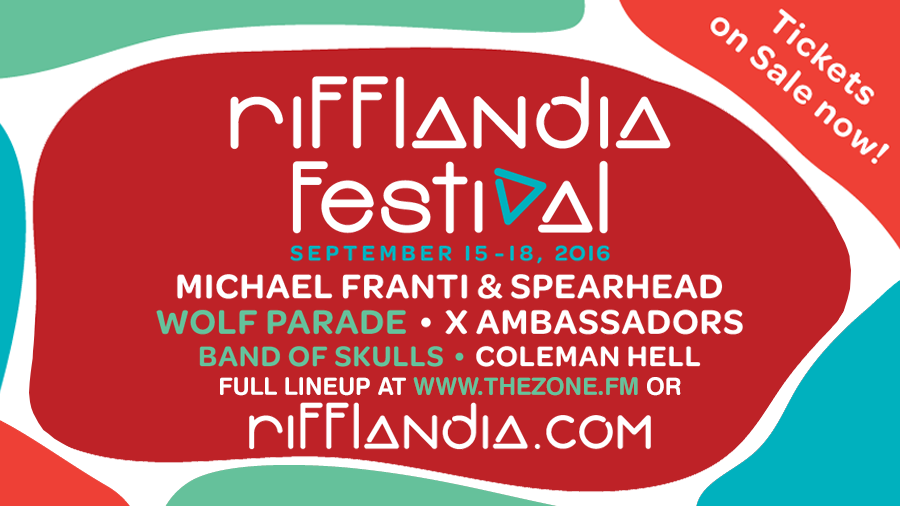 Rifflandia Festival 2016 first wave lineup