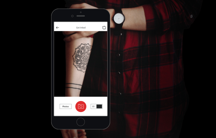 A Tattoo Test App