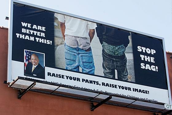South Carolina town BANS saggy pants! {For real}