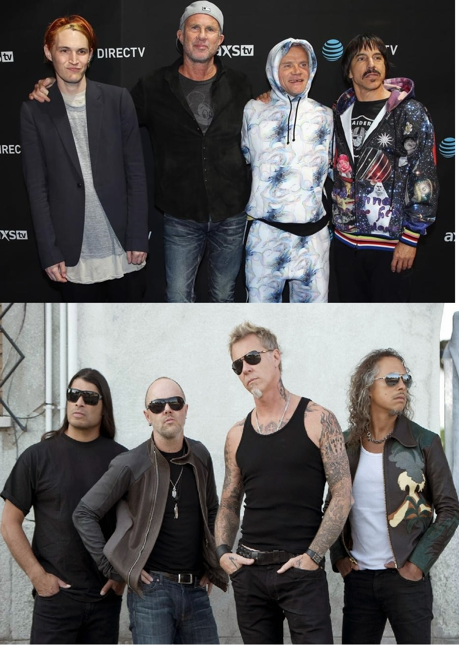 Red Hot Chili Peppers Mistaken for Metallica?