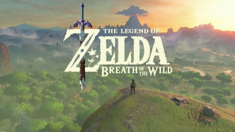 The Temple of Time in Zelda: Breath of The Wild