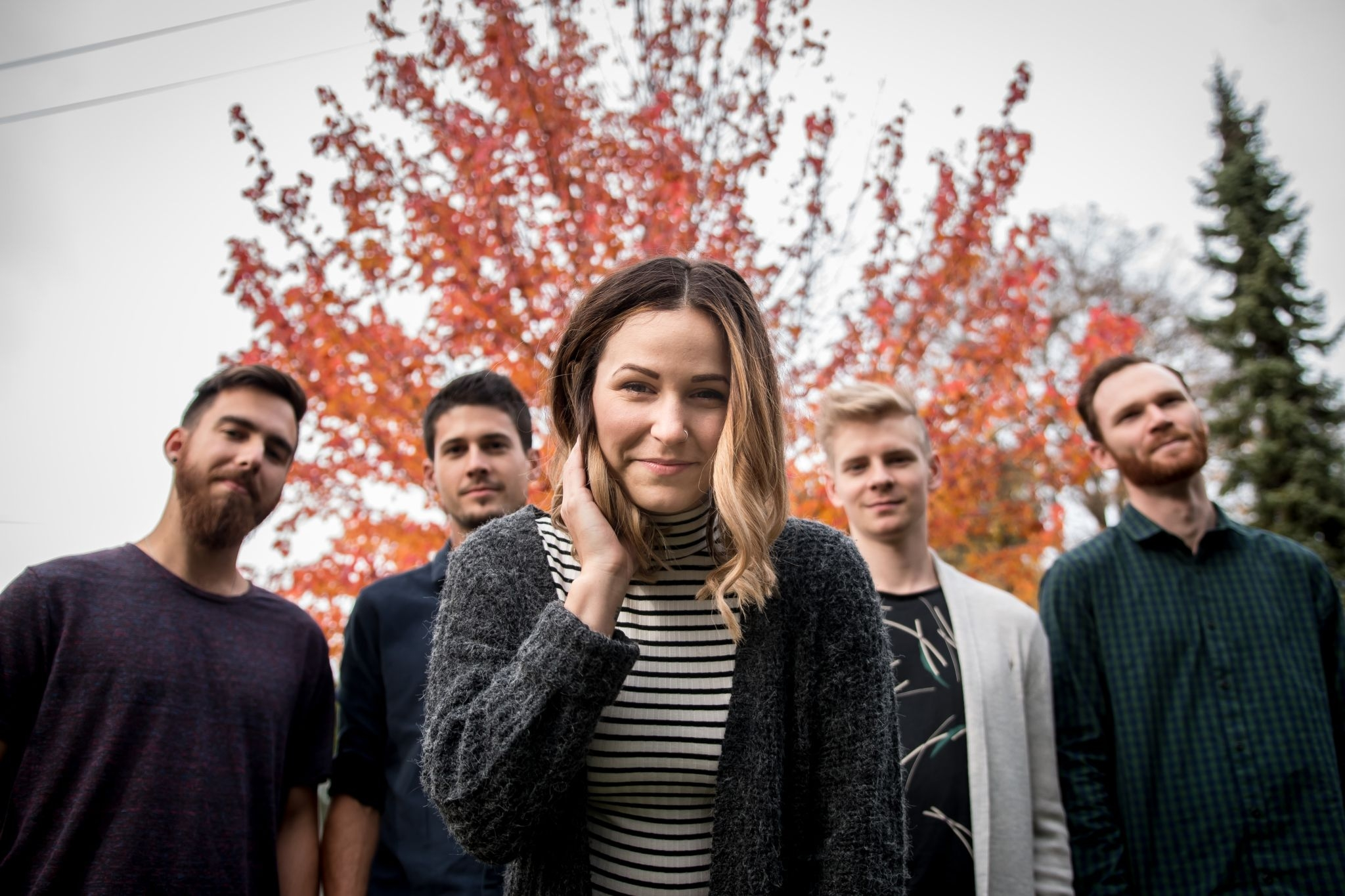 Former #BandOfTheMonth Lovecoast covers BØRNS Electric Love