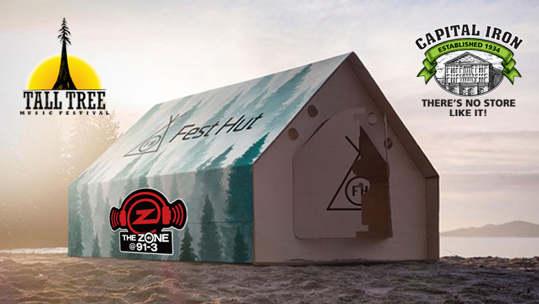 Win a Fest Hut Tall Tree camping package!