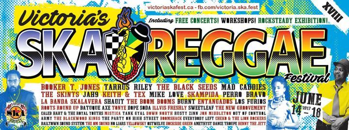 Talkin' Victoria Ska & Reggae Fest - Black Seeds & Perro Bravo
