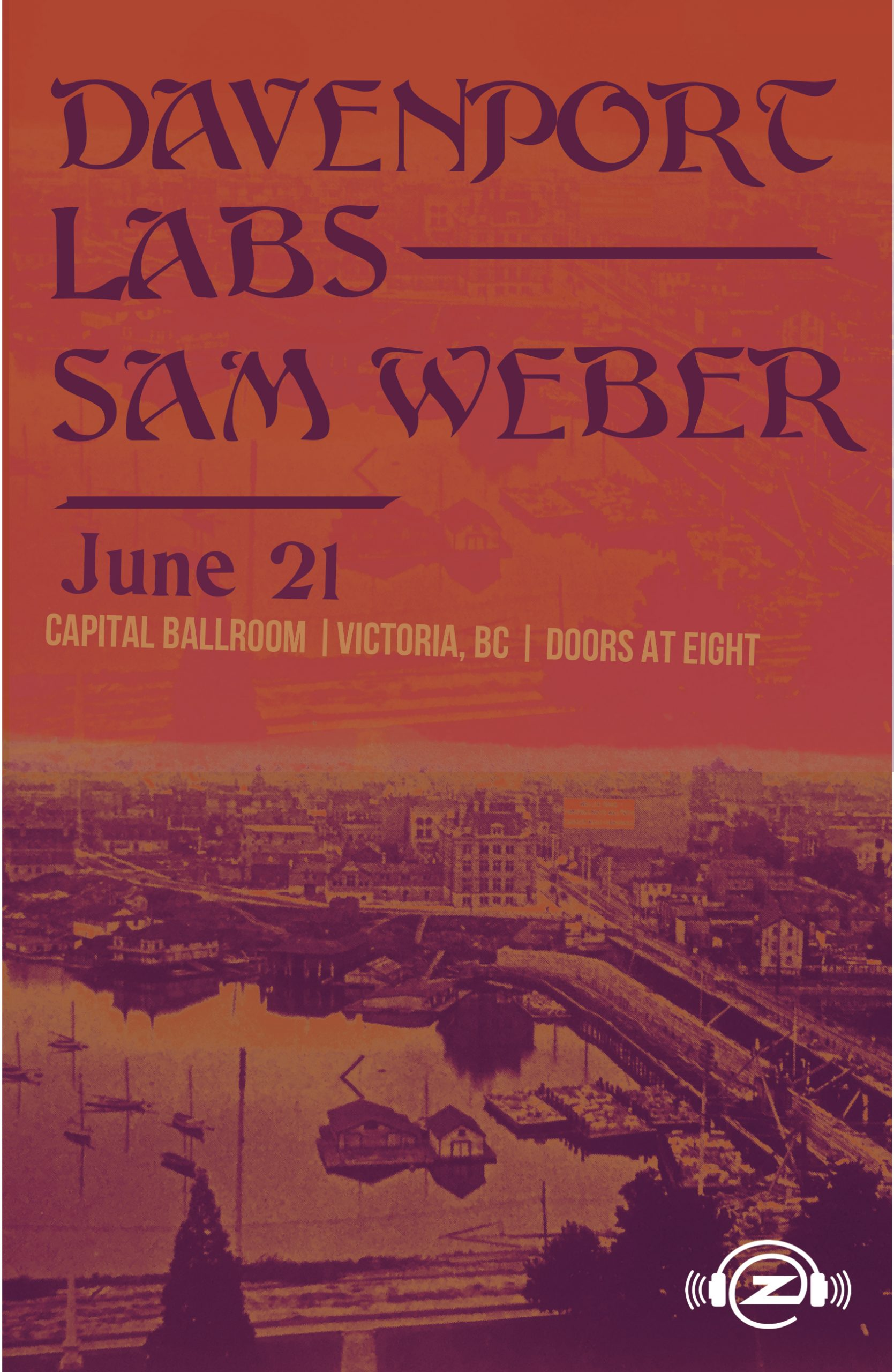 Davenport w LABS and Sam Weber Concerts