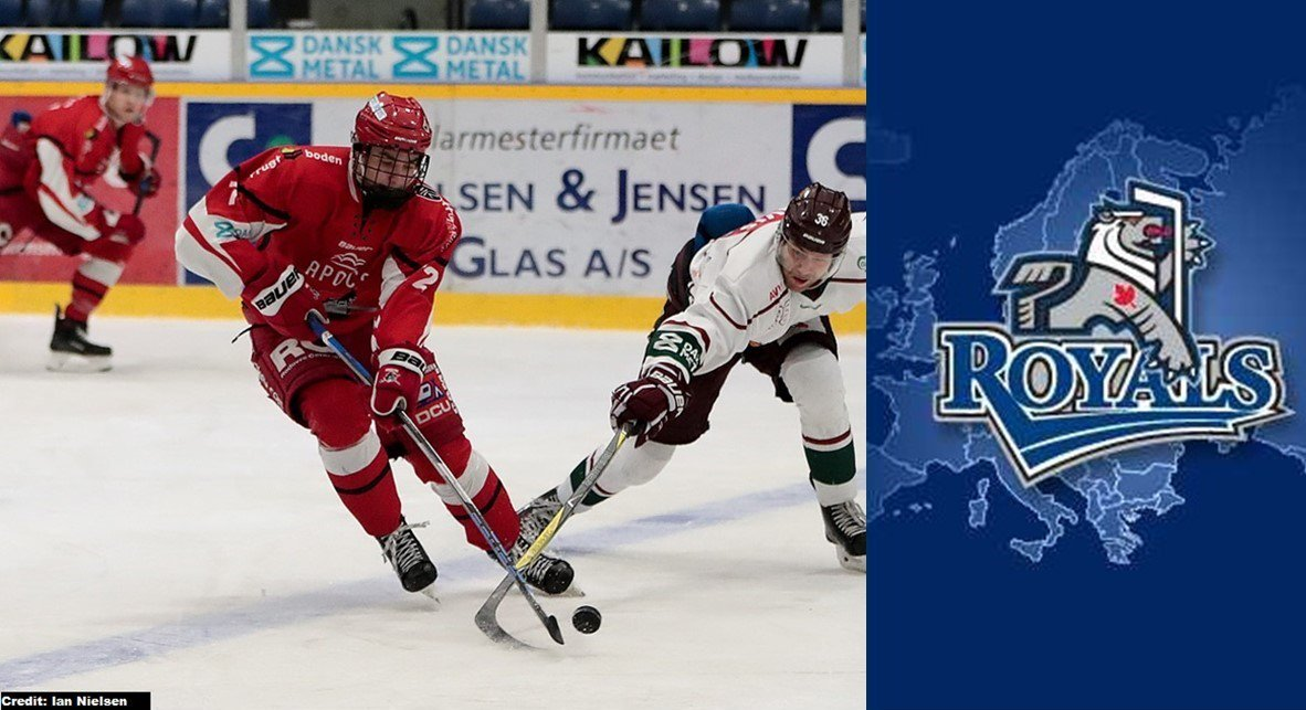 Royals Select Phillip Schultz CHL Import Draft