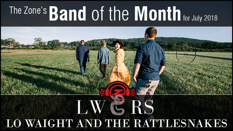 The Zone's Band of the Month is Lo Waight and the Rattlesnakes