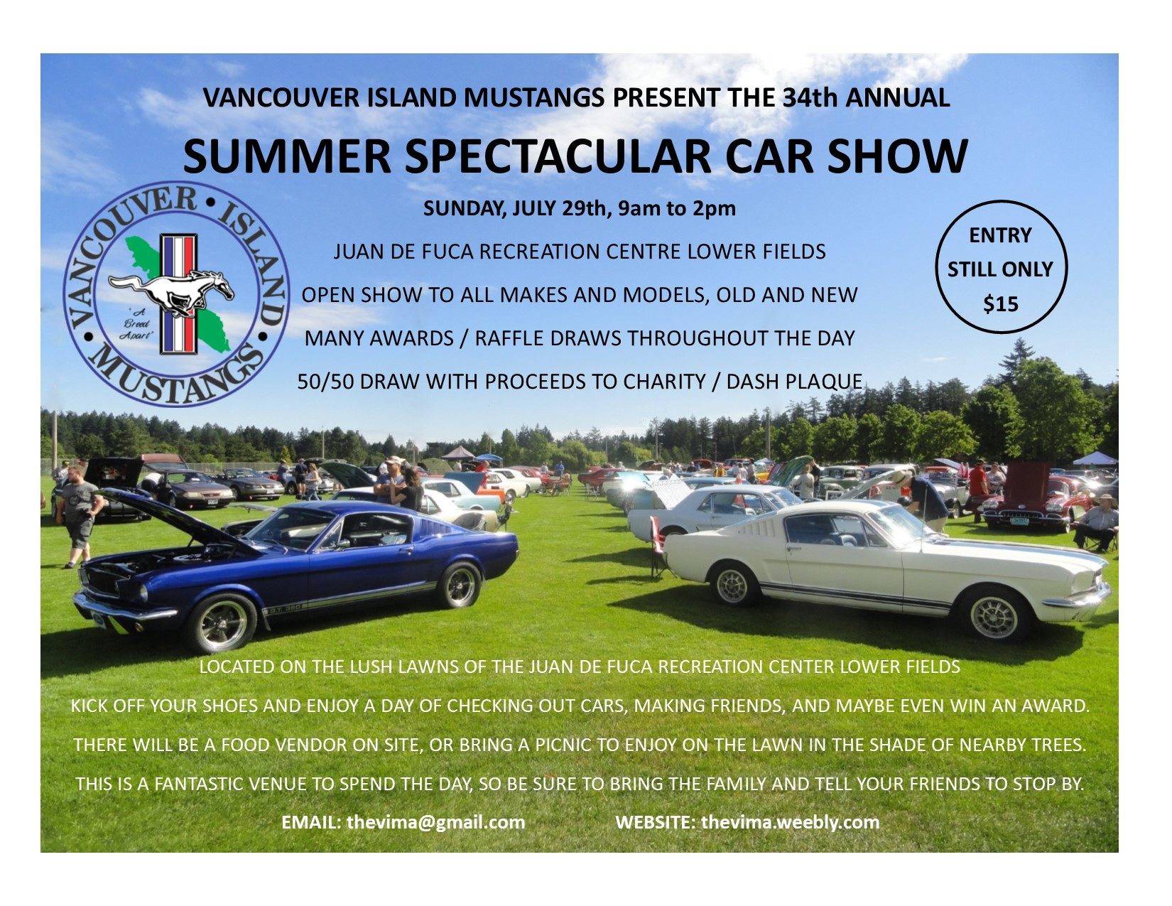 Th Annual VIMA Summer Spectacular The Zone - Car show chairs