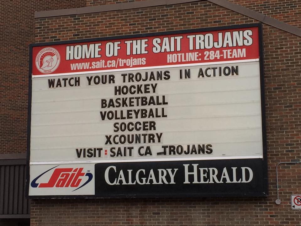 SAIT Trojans Awards of the Week