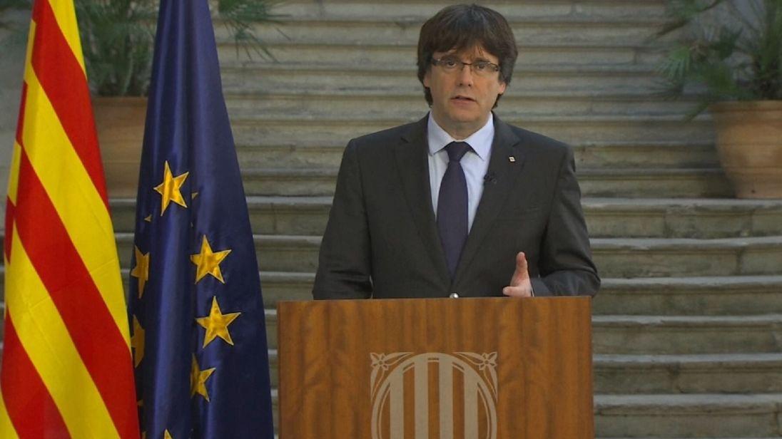 Ex-Catalonian president isn't seeking asylum in belgium.