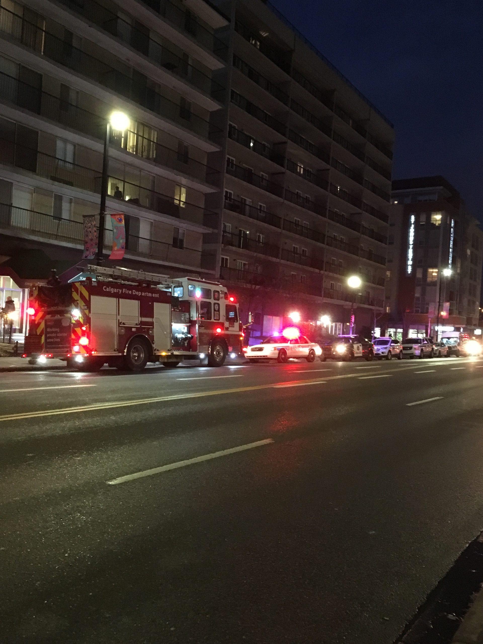 Kensington apartment building evacuated
