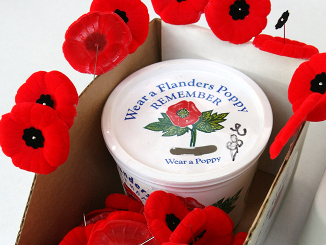 Man Charged with Poppy Box Thefts